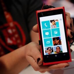 '95 procent Windows Phones afkomstig van Nokia'