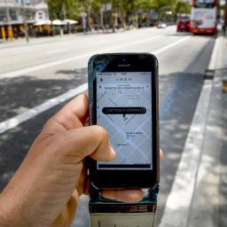 Uber in Frankrijk aan banden gelegd