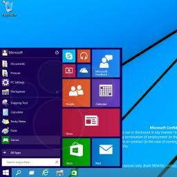'Windows 9 gratis voor Windows 8-gebruikers'